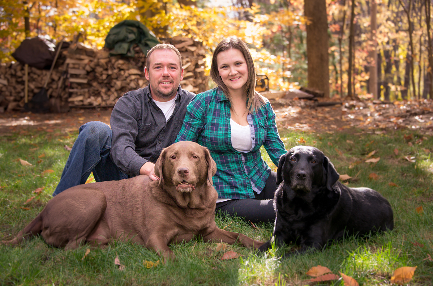 All Occasions Photography Albany NY - Family Photography Example 11 with Family Dogs