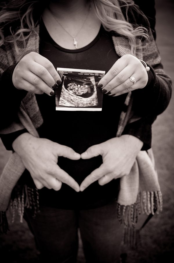 All Occasions Photography Albany NY - Maternity Photography Ultrasound Picture