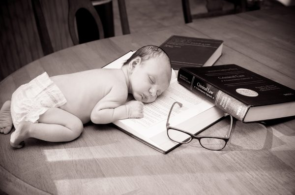 All Occasions Photography Albany NY - Newborn Photography Infant on Books