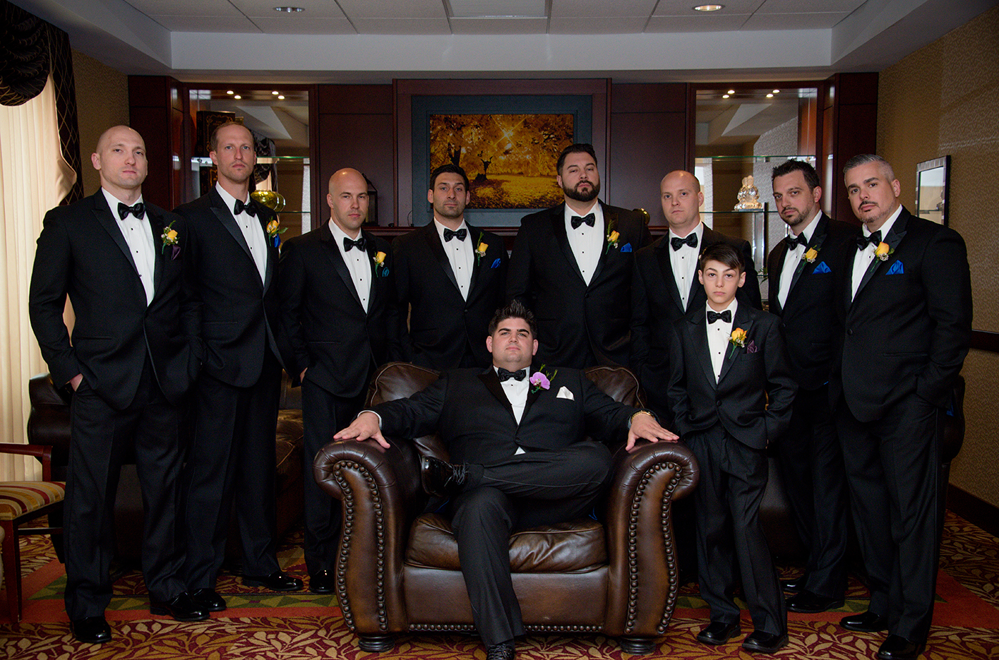 All Occasions Photography Albany NY - Wedding Photography Groom With Groomsmen