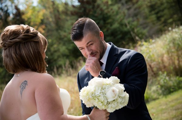 All Occasions Photography Albany NY - Wedding Photography Emotional Groom