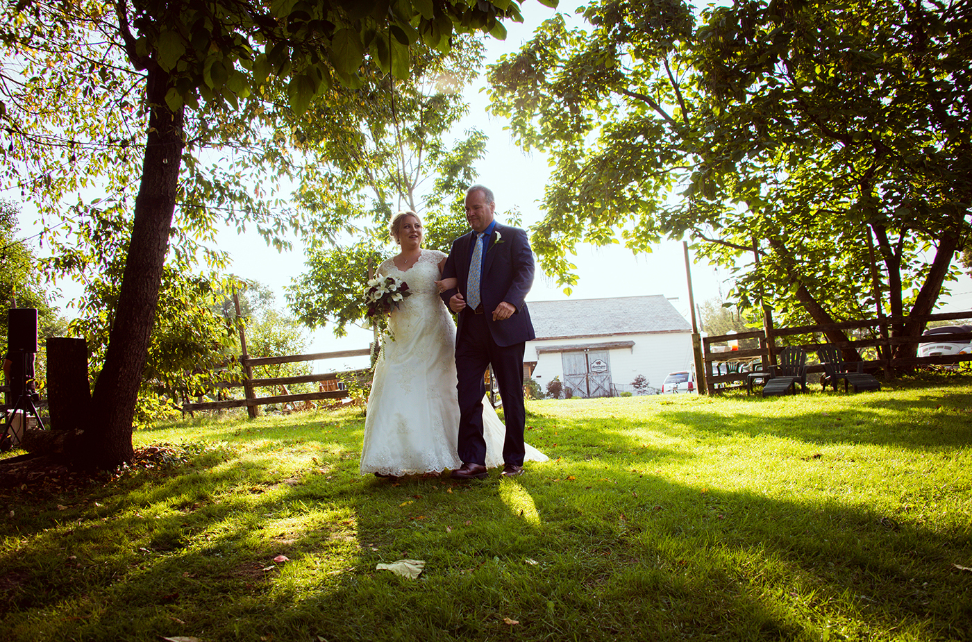 All Occasions Photography Albany NY - Wedding Photography Outdoor Shot