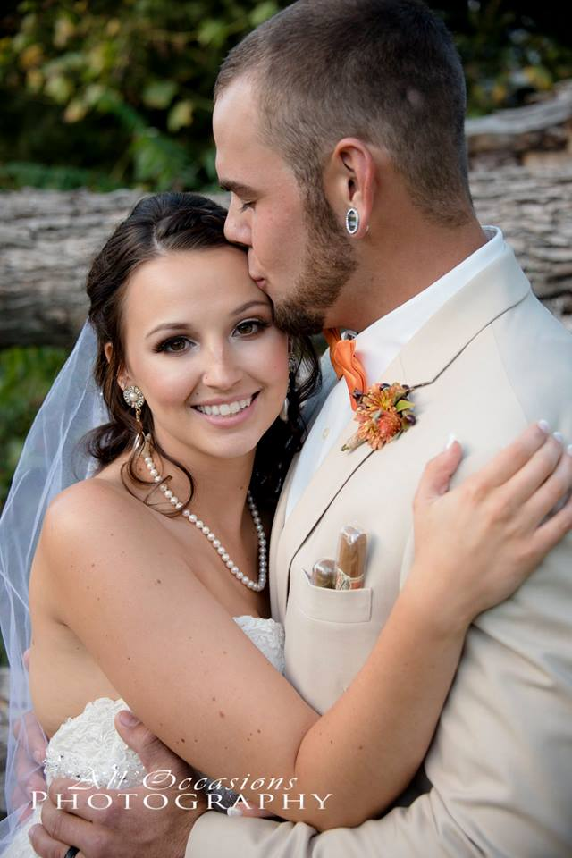 All Occasions Photography Albany NY - Wedding Photography Groom Kissing Brides Forehead