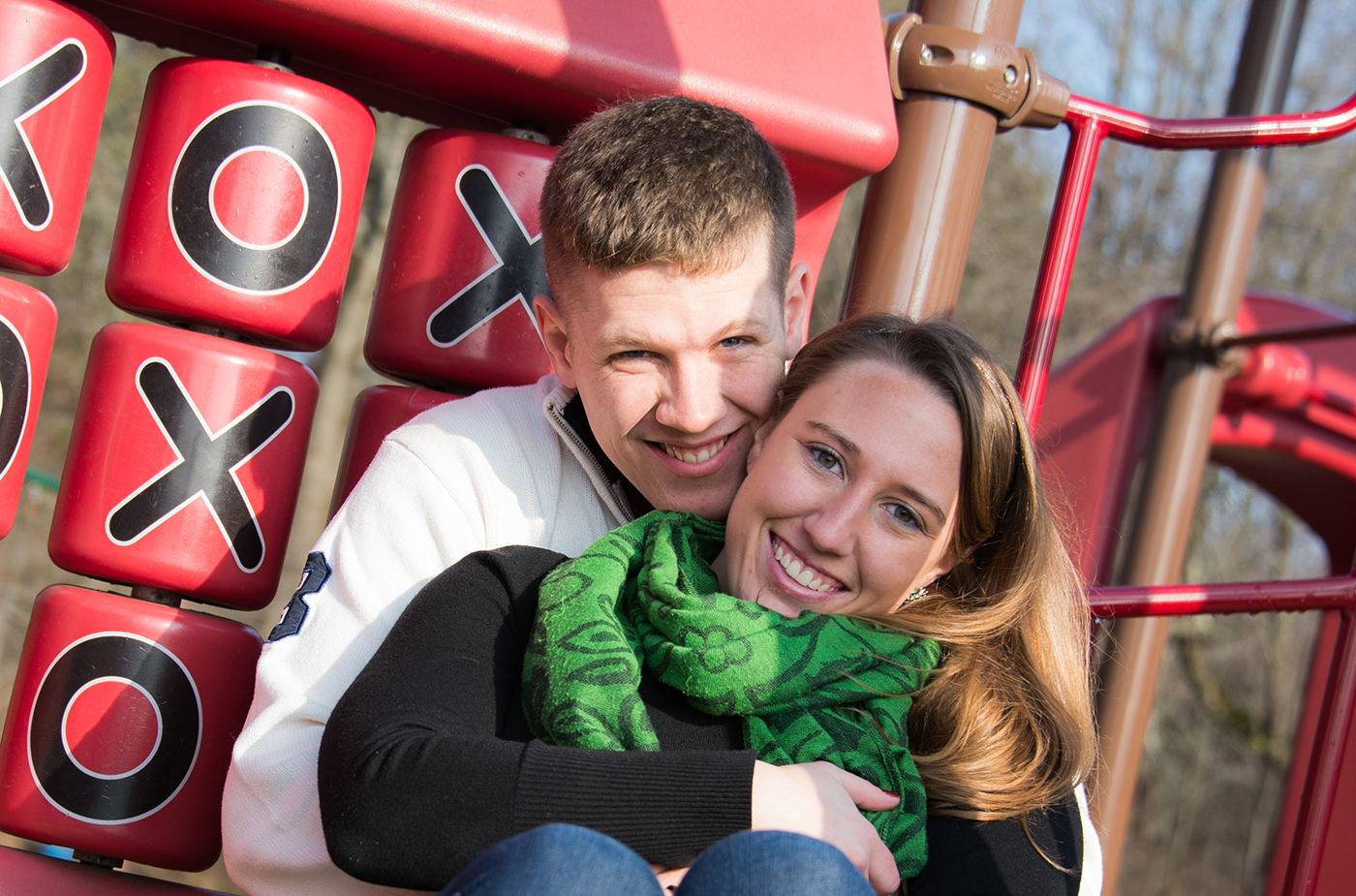 All Occasions Photography Albany NY - Engagement Photography on Playground
