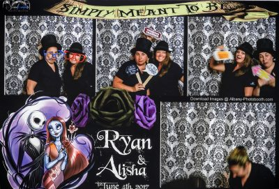 All Occasions Photography Albany NY - Wedding Photography Funny Photographer Photobooth Photo Collage Nightmare Before Christmas Themed