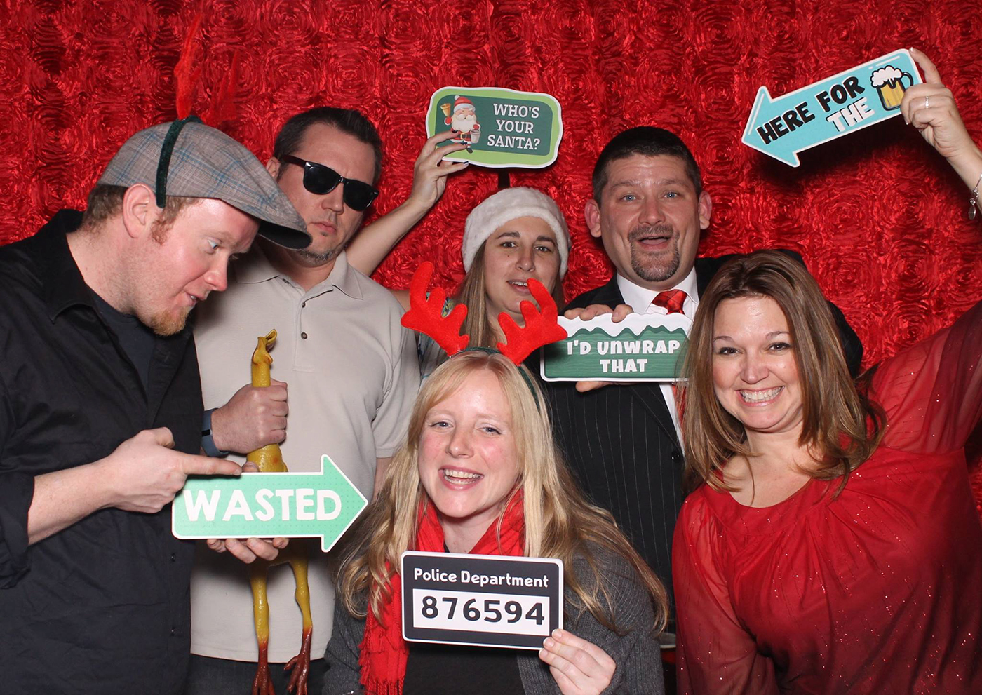 All Occasions Photography Albany NY - Wedding Photography Funny Photographers Holding Silly Christmas Signs